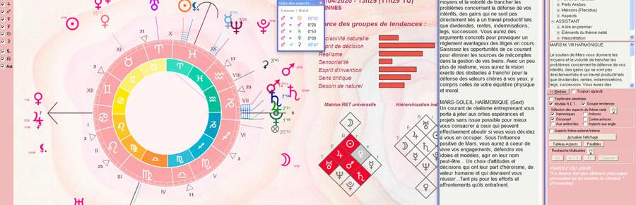 logiciel d'astrologie